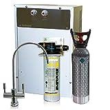 Depuratore Acqua ForHome® Refrigeratore Gasatore Con Everpure Da Sotto Lavello Acqua Gasata...