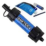 Sawyer Mini sistema di filtraggio acqua PointONE filter Outdoor & Trekking (SP128 Blu)