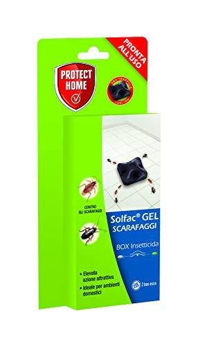 Solfac Box Gel per scarafaggi da casa e giardino