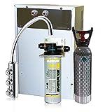 Depuratore Acqua ForHome Refrigeratore Gasatore Con Everpure Da Sotto Lavello - Acqua Gasata Refrigerata Amb. Rub. 3 Vie