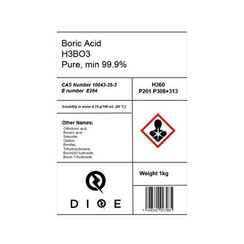 Esca con acido borico