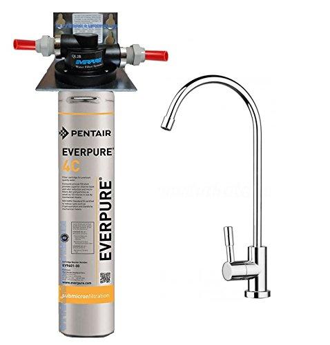 Depuratore Acqua Kit Everpure 4C completo di Kit installazione