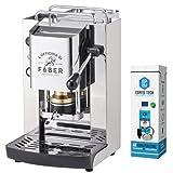 MACCHINA CAFFE A CIALDE IN CARTA ESE 44MM FABER Slot Pro Total Inox +KIT MANUTENZIONE + 20 CIALDE...