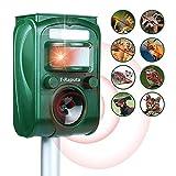 Dispositivo a ultrasuoni per topi da esterno a batteria T-Raputa