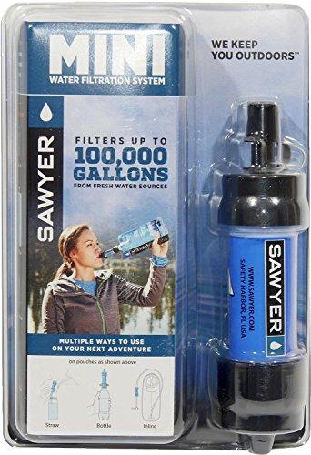 Mini Water Filtration System della Sawyer (fino a 0,1 μ)