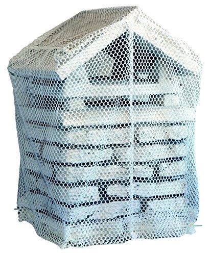 Best Fire 12050 Salva Comignolo in Rete Poliestere per Alte Temperature, Bianco