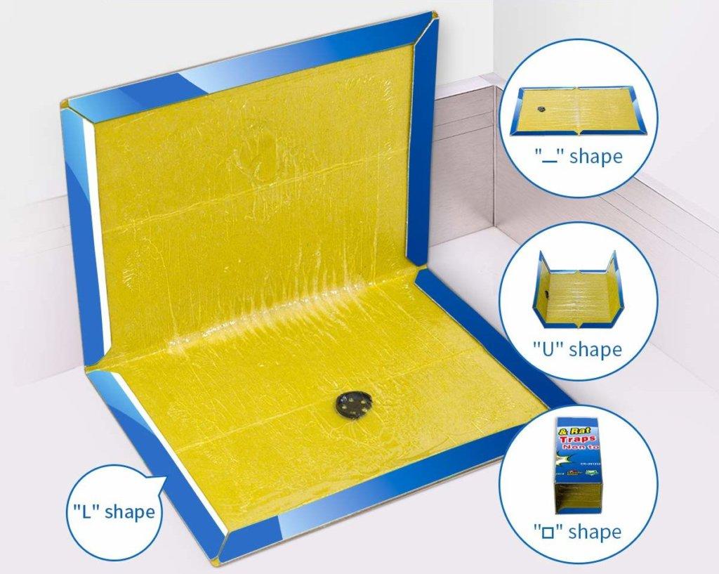 trappole per topi adesive
