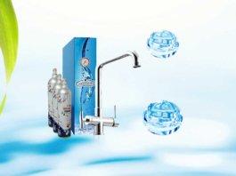 depuratore di acqua frizzante sottolavello