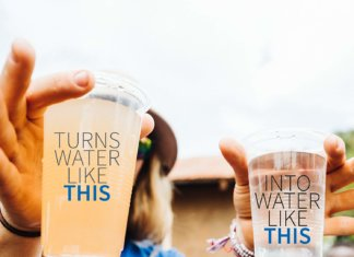 potabilizzatore d'acqua da trekking