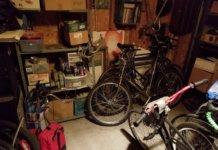 topi in garage